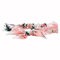 Palm Tree Bow Headband