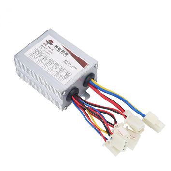 Outdoor VGEBY 24V 500W Motor Brushed Controller Box for Electric Bicycle Scooter E-bike