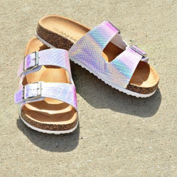 Summer Adventure Sandals - White