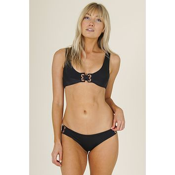 Tori Praver Swimwear - Rubie Top | Black