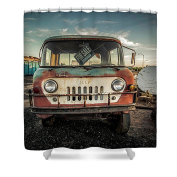 It's A Jeep Thing - Shower Curtain
