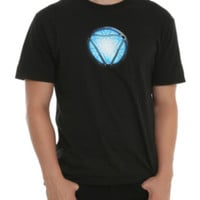 Marvel Iron Man Arc Reactor T-Shirt