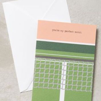 Perfect Match Card by Anthropologie in Green Size: One Size Books