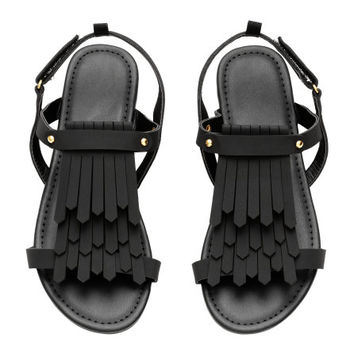 Sandals with Fringe - from H&M