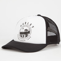 Hurley Destination Womens Trucker Hat White One Size For Women 25108915001