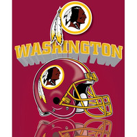 Washington Redskins Mirror Blanket