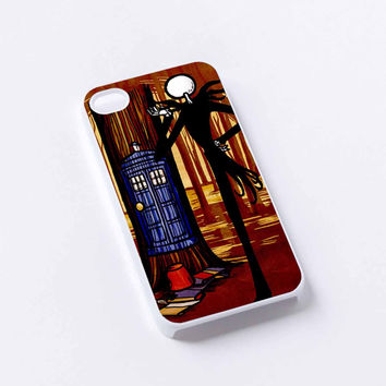 Jack Skellington Tardis iPhone 4/4S, 5/5S, 5C,6,6plus,and Samsung s3,s4,s5,s6