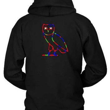 Ovo Colorize Cover Logo Hoodie Two Sided