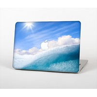 The Sunny Day Waves Skin Set for the Apple MacBook Air 11""