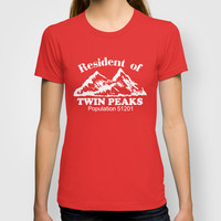 Twin Peaks T-shirt by Thomas Jarry