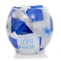 Christmas Let It Show Candle Holder Christmas Decor