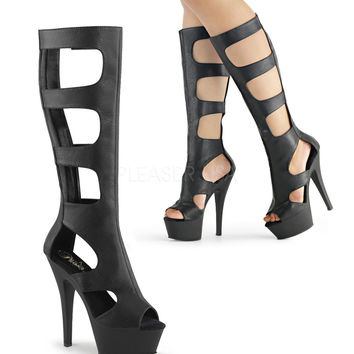 Kiss 200-45 Cutout Knee High Boot