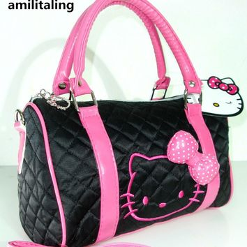 New Hello Kitty Bag with Shoulder Strap Purse YE-48064BPa3