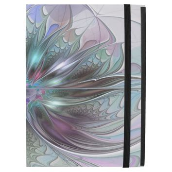 Colorful Fantasy, abstract and modern Fractal Art iPad Pro Case