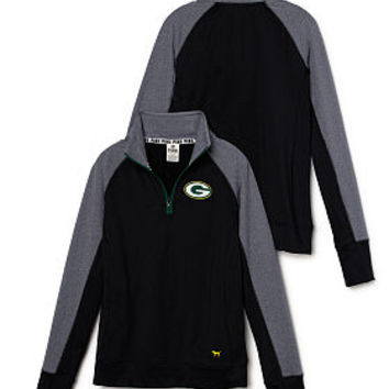 Green Bay Packers PINK Ultimate Half-Zip - PINK - Victoria's Secret