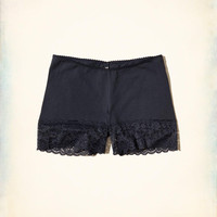 Girls Lace-Trim Cotton Layering Short | Girls New Arrivals | HollisterCo.com