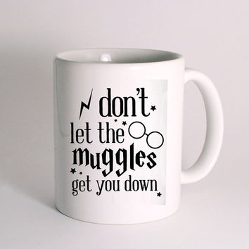 Everyday Im Mugglin Harry Potter for Mug Design