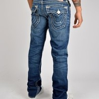 True Religion Ricky Super T Straight Jeans 24859NBT Jeans - Denim