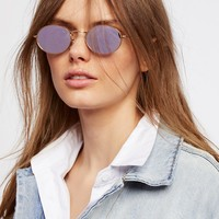 Free People '90s Kid Oval Sunnies