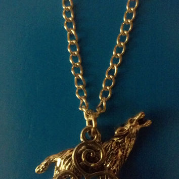 Teen Wolf Inspired Charm Necklace by FanacFanny on Etsy