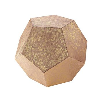 Dodecahedron Cube Black