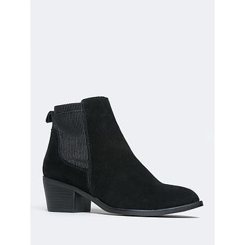 Pointed Toe Chelsea Bootie