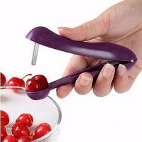 2016 Nordic Cherries Fast E nucleate Creative Tools Kitchen Cherry Gadgets Tools Cherry Pitter Seed Tools
