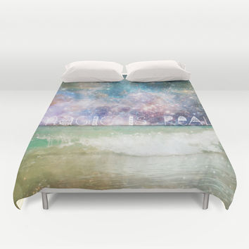 Magic Is Real II Duvet Cover by Jenndalyn
