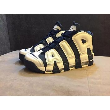 Nike Air More Uptempo OG Olympic 414962-104 Size 36--45