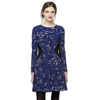 Thakoon for DesigNation Floral Fit & Flare Dress