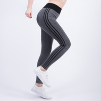 Women's Cropped Leggings With High Waist