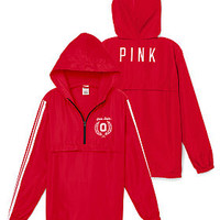 Ohio State University Half-Zip Windbreaker - PINK - Victoria's Secret