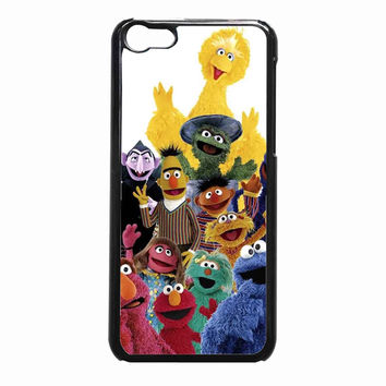 Sesame Street f6882528-13a2-44ee-bbb4-864bec1c6444 FOR iPhone 5C CASE *NP*