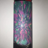 Psychedelic Mountain Sky custom BIC lighter