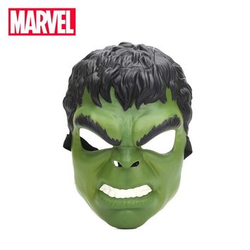 26cm Electronic Avengers Age of Ultron Hulk Iron Man Voice Changer Mask Hasbro Marvel Toys for Kid Adult Superhero Cosplay Toy