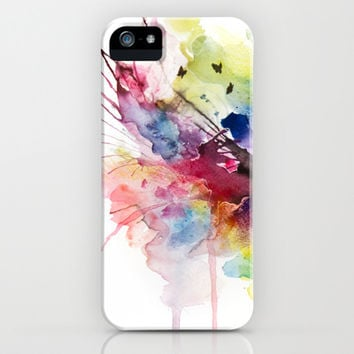 skies on fire  iPhone & iPod Case by Agnes-cecile