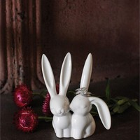 Long Ear Bunnies By Creative Coop