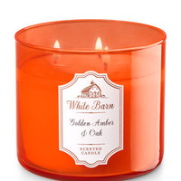 GOLDEN AMBER & OAK3-Wick Candle