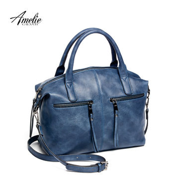 AMELIEGALANTI brand new fashion women tote bag with a pillow bag high quality PU handbag solid shoulder messenger bags