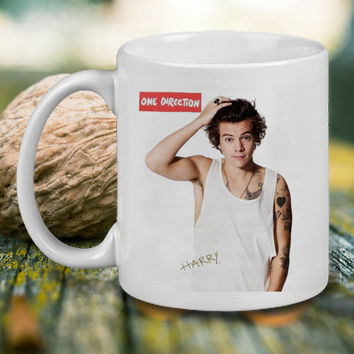 Harry Style 1D One Direction Mug, Tea Mug, Coffee Mug