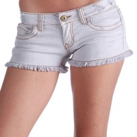 Vintage Havana Cuffed Denim Short