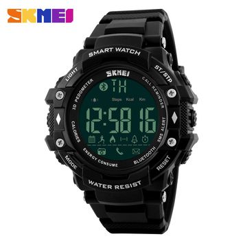 Smart Watch For Apple Android SKMEI Brand Sports Watches Bluetooth Pedometer Camera Smartwatch Calorie Digital Wristwatches