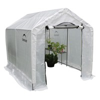 ShelterLogic GrowIt 6' x 8' Backyard Greenhouse (White)