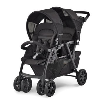 Chicco Cortina Together Double Stroller - Obsidian