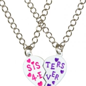 Big Sis Little Sis Magnetic Necklaces | Girls Necklaces Jewelry | Shop Justice