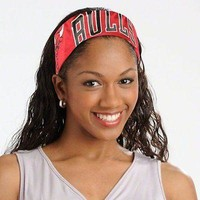 Chicago Bulls NBA FanBand Jersey Headband