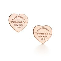 Tiffany & Co. - Return to Tiffany® Mini Heart Tag Earrings