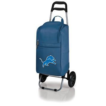 Detroit Lions - Cart Cooler with Trolley (Navy)