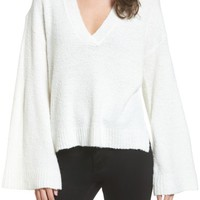 BP. Bouclé V-Neck Sweater | Nordstrom