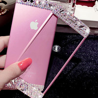 Handmade Tempered Glass Film Screen Protector for Iphone 5s 6 6s Plus